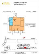Mieszkanie nr 64 (Budynek A) SPRZEDANE