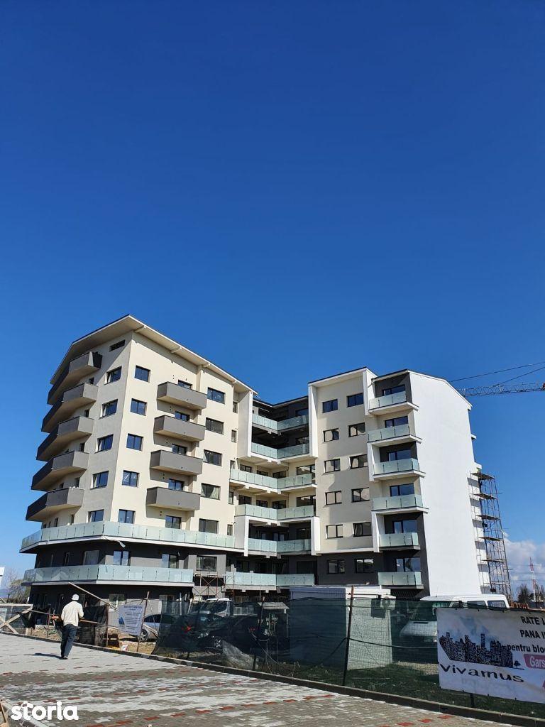 Apartament 3 camere, 73 mp utili + balcon, bloc nou VIVAMUS