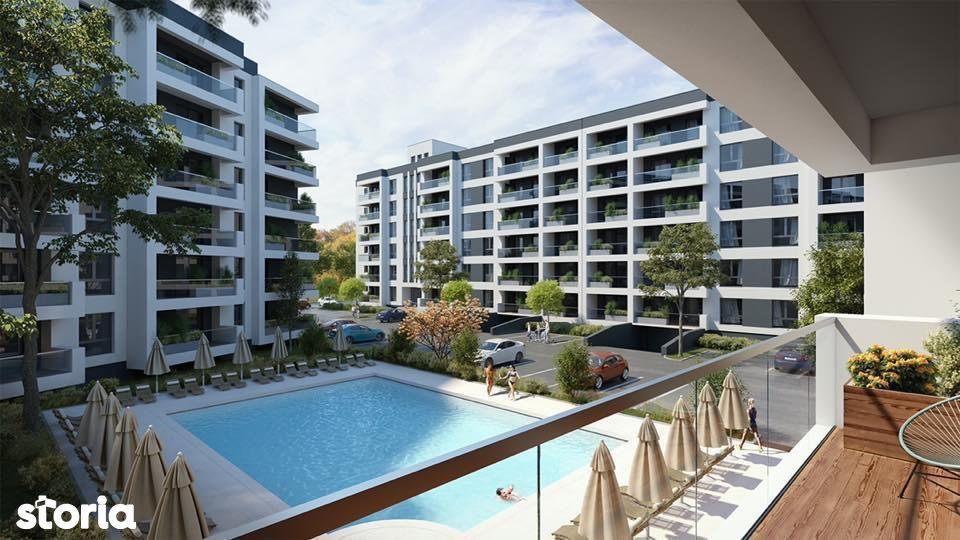 Apartament cu 3 camere tip 1B Regnum Residence Fundeni