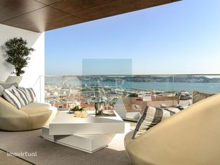 T3 com Terraço em Condomínio de Luxo em Algés