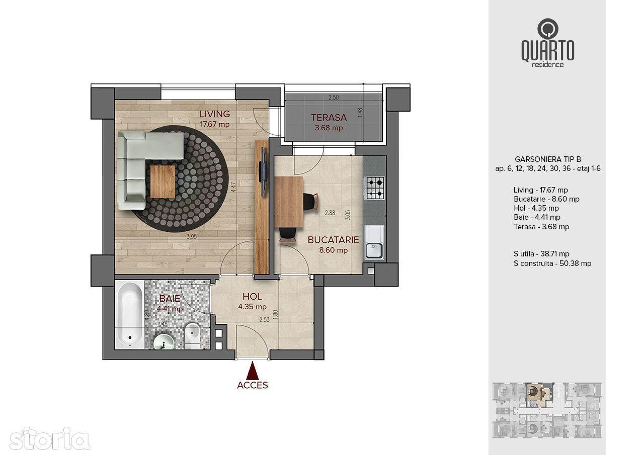 Quarto Residence Direct Dezvoltator - Ultimele Disponibilitati