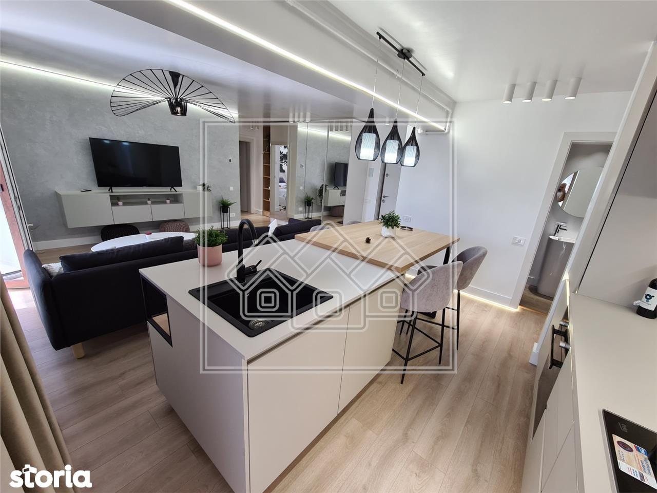 Apartament 3 camere, LUX - NOU - Selimbar