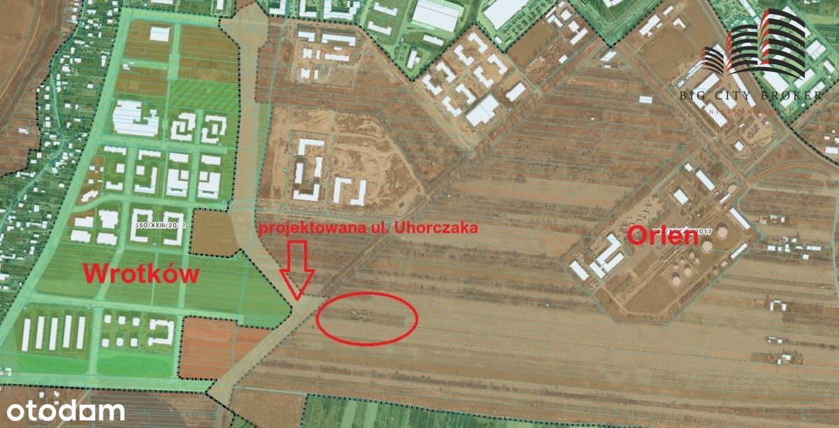 Działki ul. Zemborzcka- 79 arów