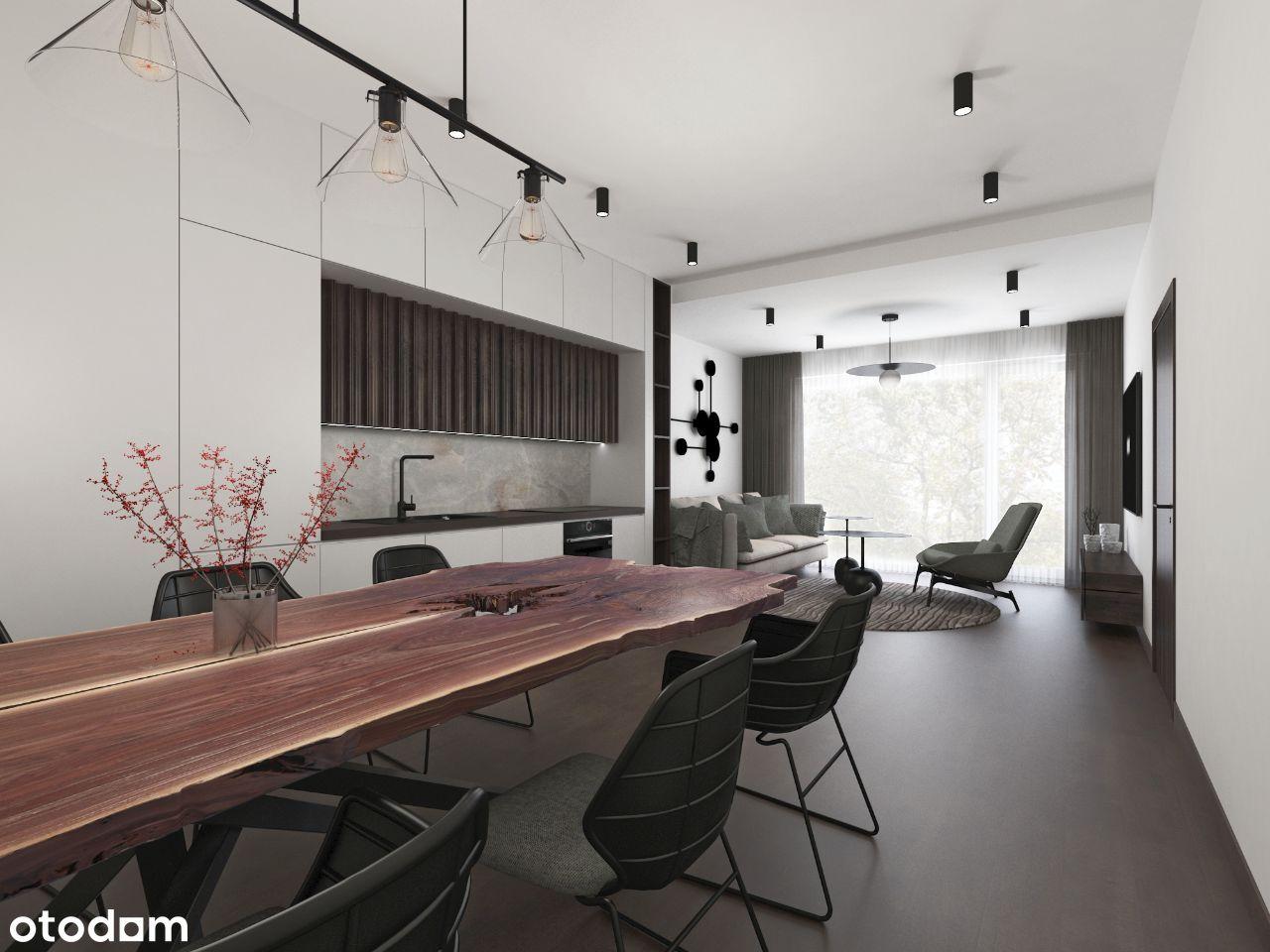 Apartament 2-pokojowy 74,21 m2 z ogródkiem