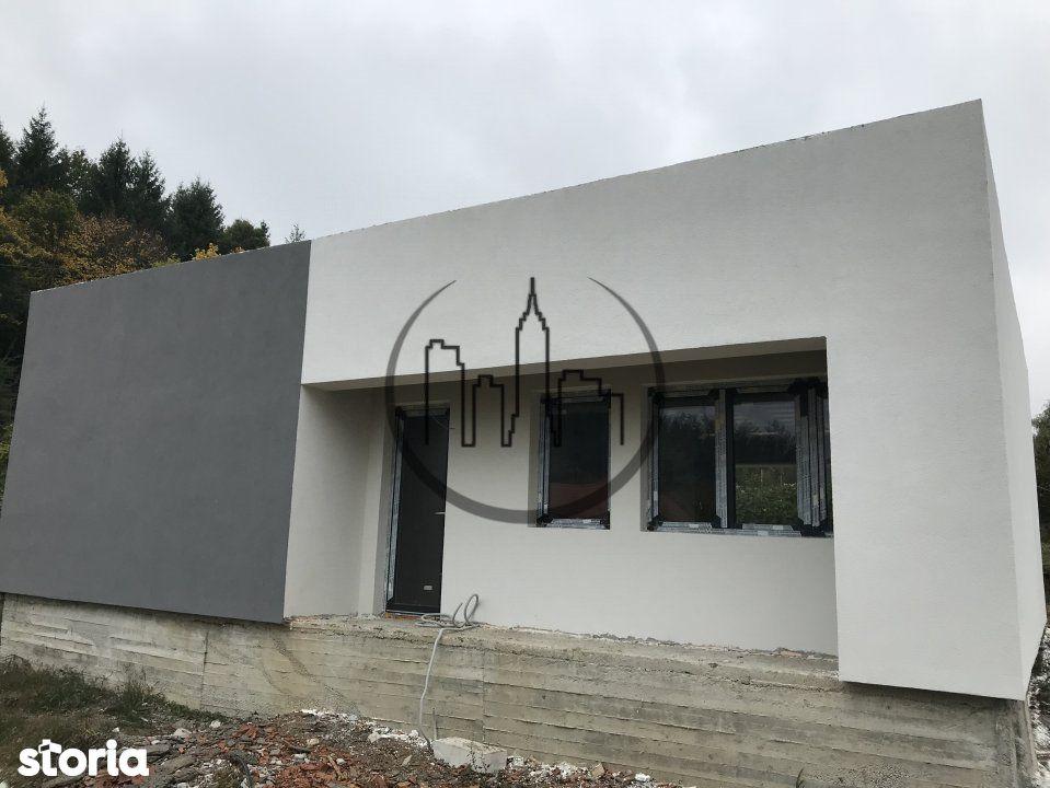 Casa individuala de vanzare pe un nivel 3 camere 90mpu in Tocile Sibiu