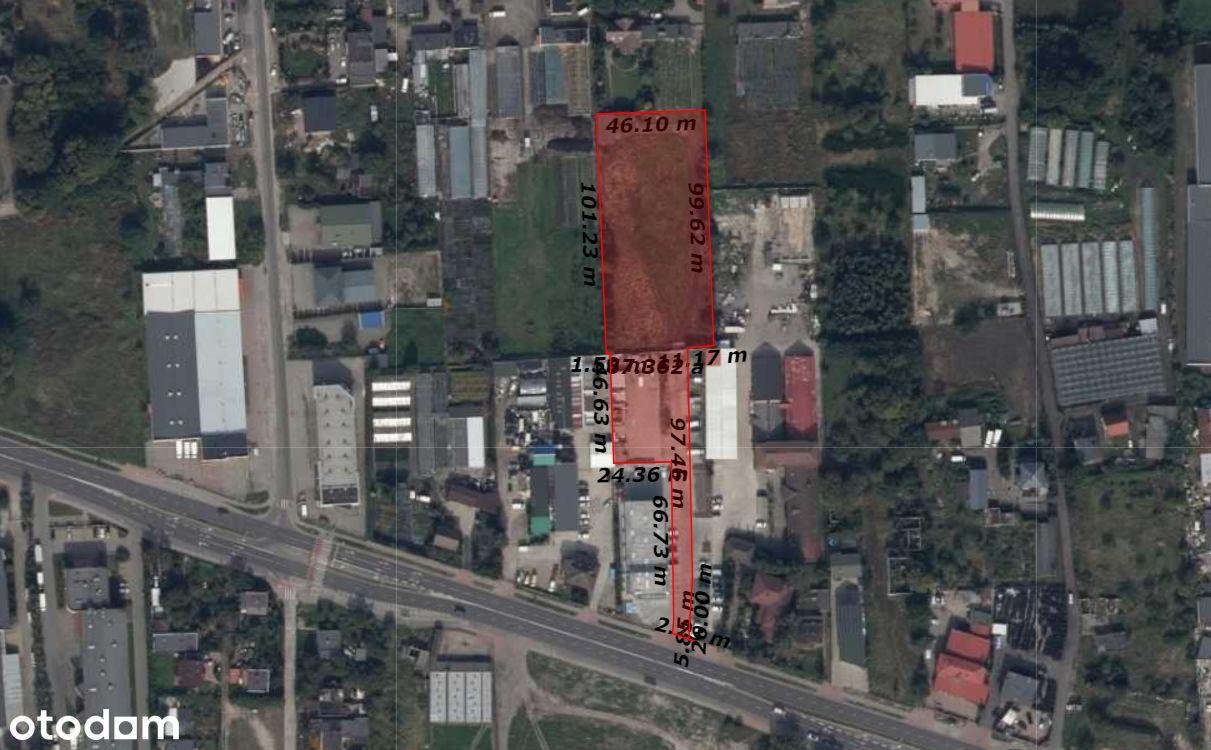 Działka inwestycyjna Toruń, ul. Polna, 7000m2