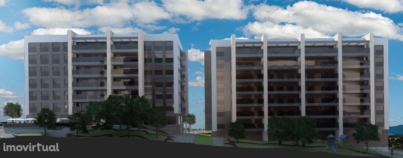 Apartamentos de luxo, em Fraião