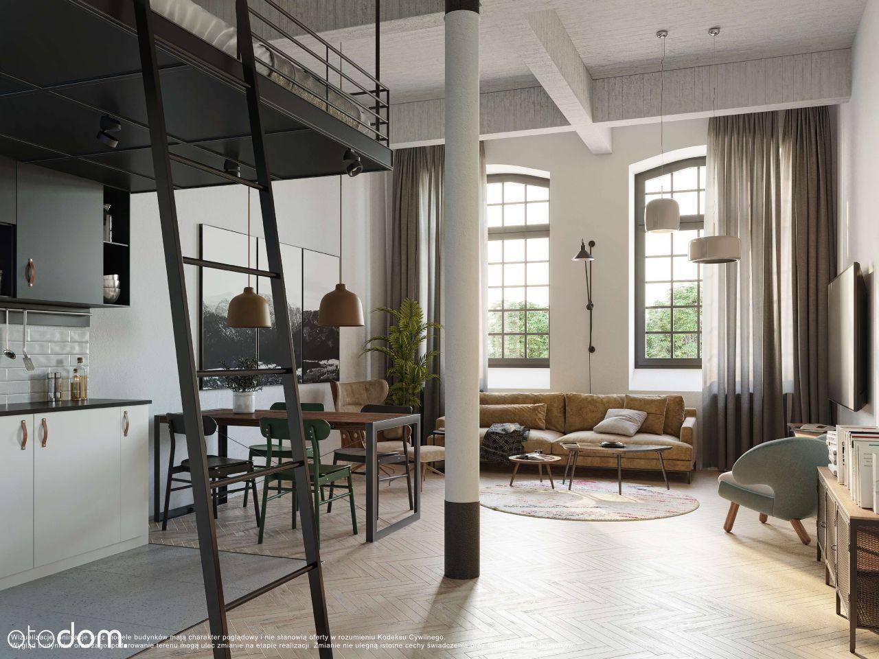Komfortowe Mieszkanie z Antresolą Wełna W1/1.2