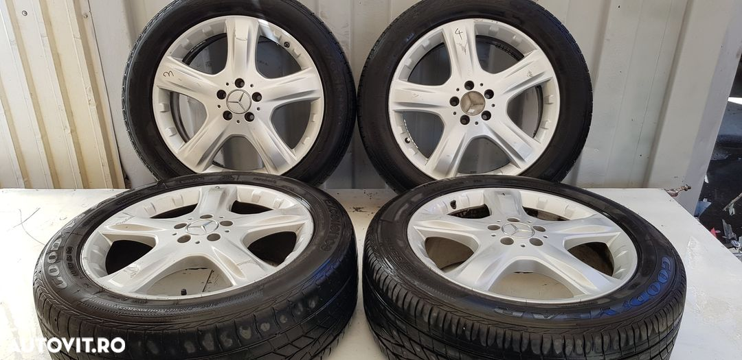 Janta aliaj set 5x112 ,r19 ,vara ,uzate  Mercedes-Benz ML / M-CLASS  - fabricatie:  2005 > ML 320 C - 1