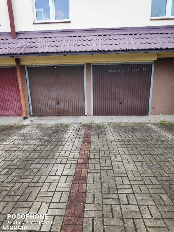 Garaż, ul. Piotrkowska 44, Ujeścisko