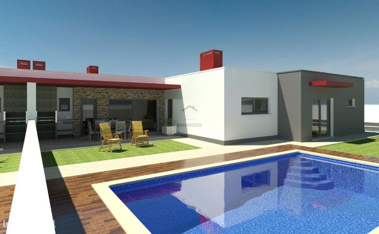Moradia térrea T4 com piscina Azeitão