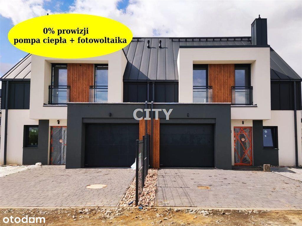 Dom w zabudowie bliźniaczej + fotowoltaika w cenie