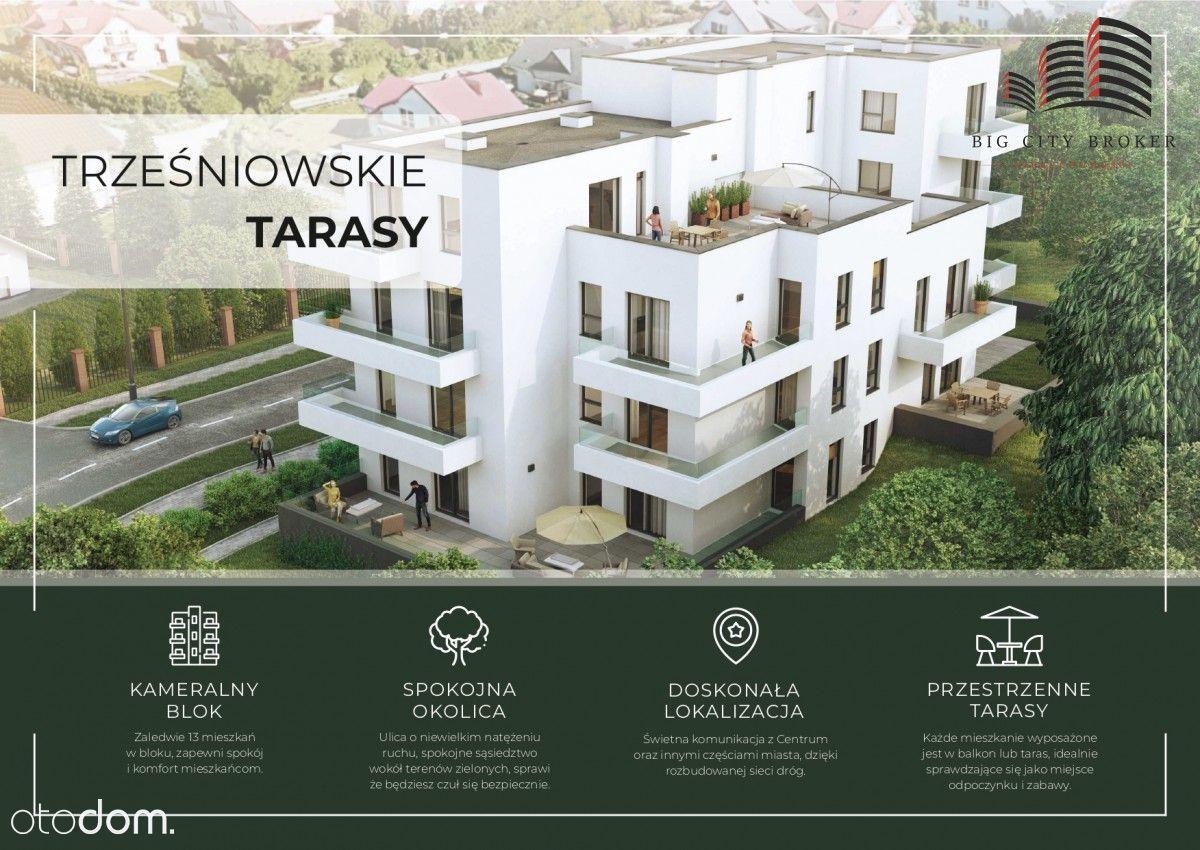 Mieszkanie 4 pokoje + taras 56 m2, Ponikwoda