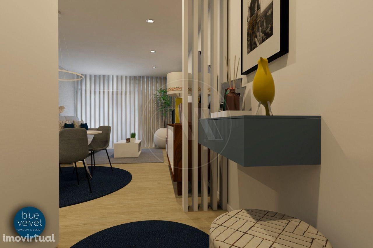 Apartamento T2 NOVO c/106 m2 na Qta. da Naia em Ferreiros, Braga!