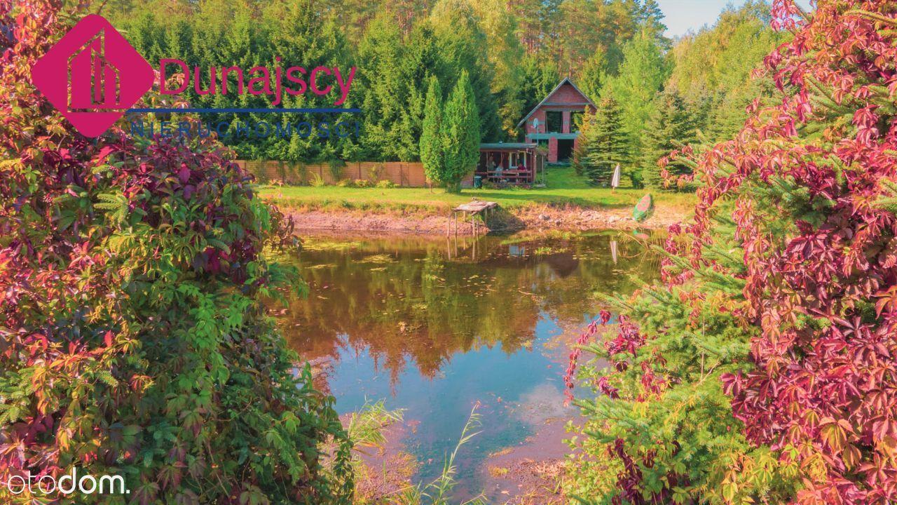Posiadłość z prywatnym stawem - Jezioro Marksoby