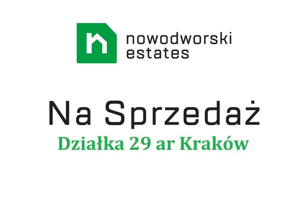 Działka 29 ar ul. Nazaretańska Kraków