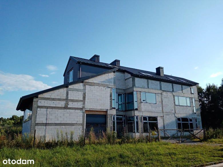 Budynek inwestycyjny usługowo-mieszkalny