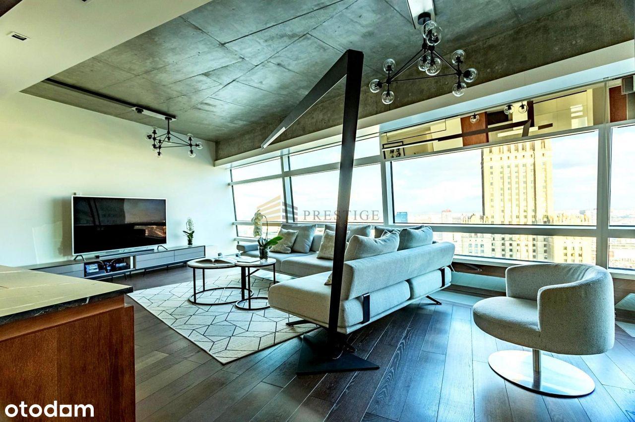 Przepiękny i wyjątkowy apartament na Złotej 44.