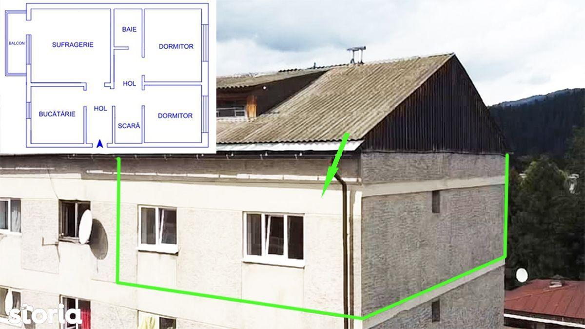 Apartament cu 3 camere decomandate, 65 mp, gaz tras
