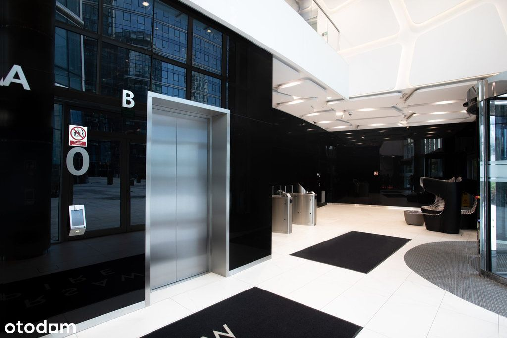 Biuro na 9 piętrze w Centrum biznesowej Woli