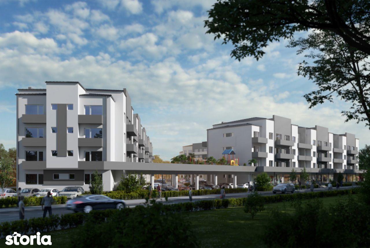 Spatii comerciale! Happy Residence 3! Randament garantat 7-8% pe an!