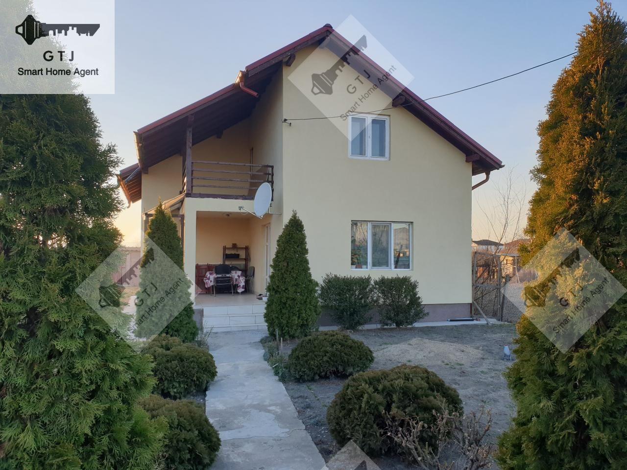 Casa Mindresti P+M-suprf 160 mp utili-Teren cca 1200mp