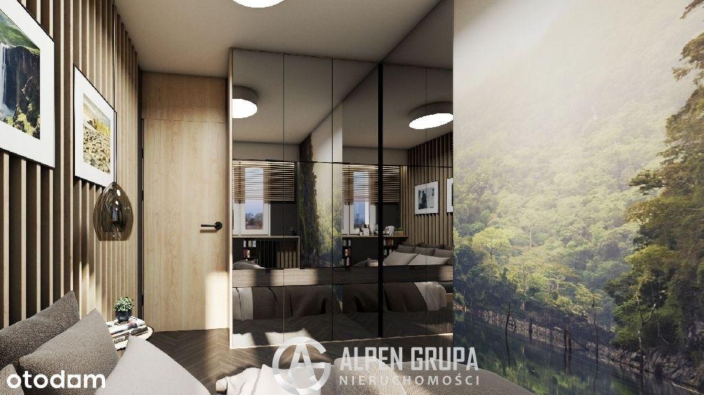 Mieszkanie 2-pok. z balkonem 44m2, Odbiór 12/2022