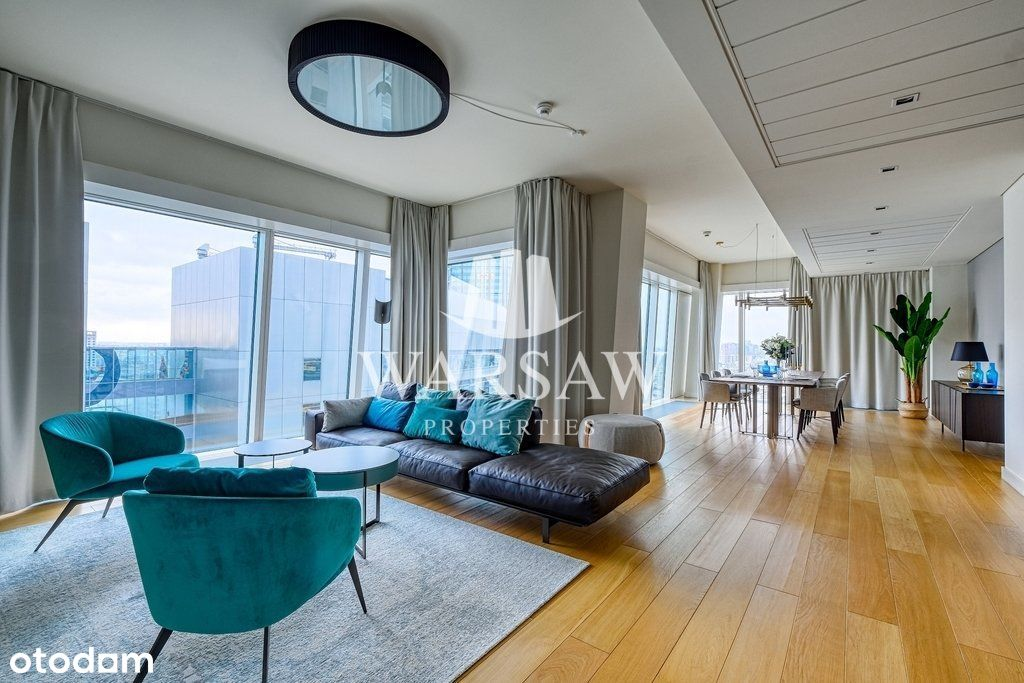 Złota 44 - luksusowy apartament na 15 piętrze