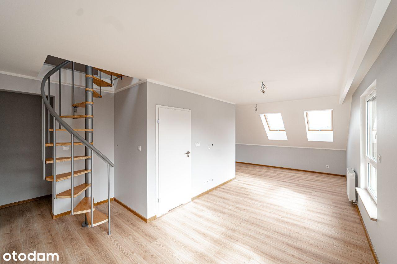 Nowoczesne mieszkanie dwupoziomowe