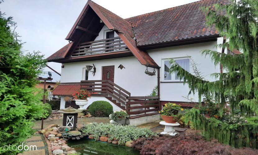 Nałęczów - atrakcyjny dom z pięknym ogrodem