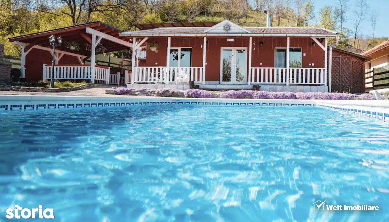 Imobil in Feleacu, compus din 2 case, piscina, teren 1578 mp