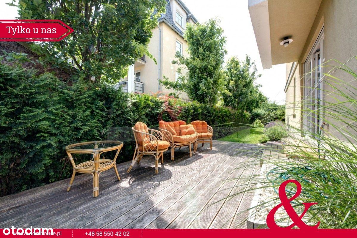 Mieszkanie z pięknym ogrodem