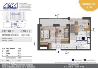 3 - pokojowe mieszkanie M78