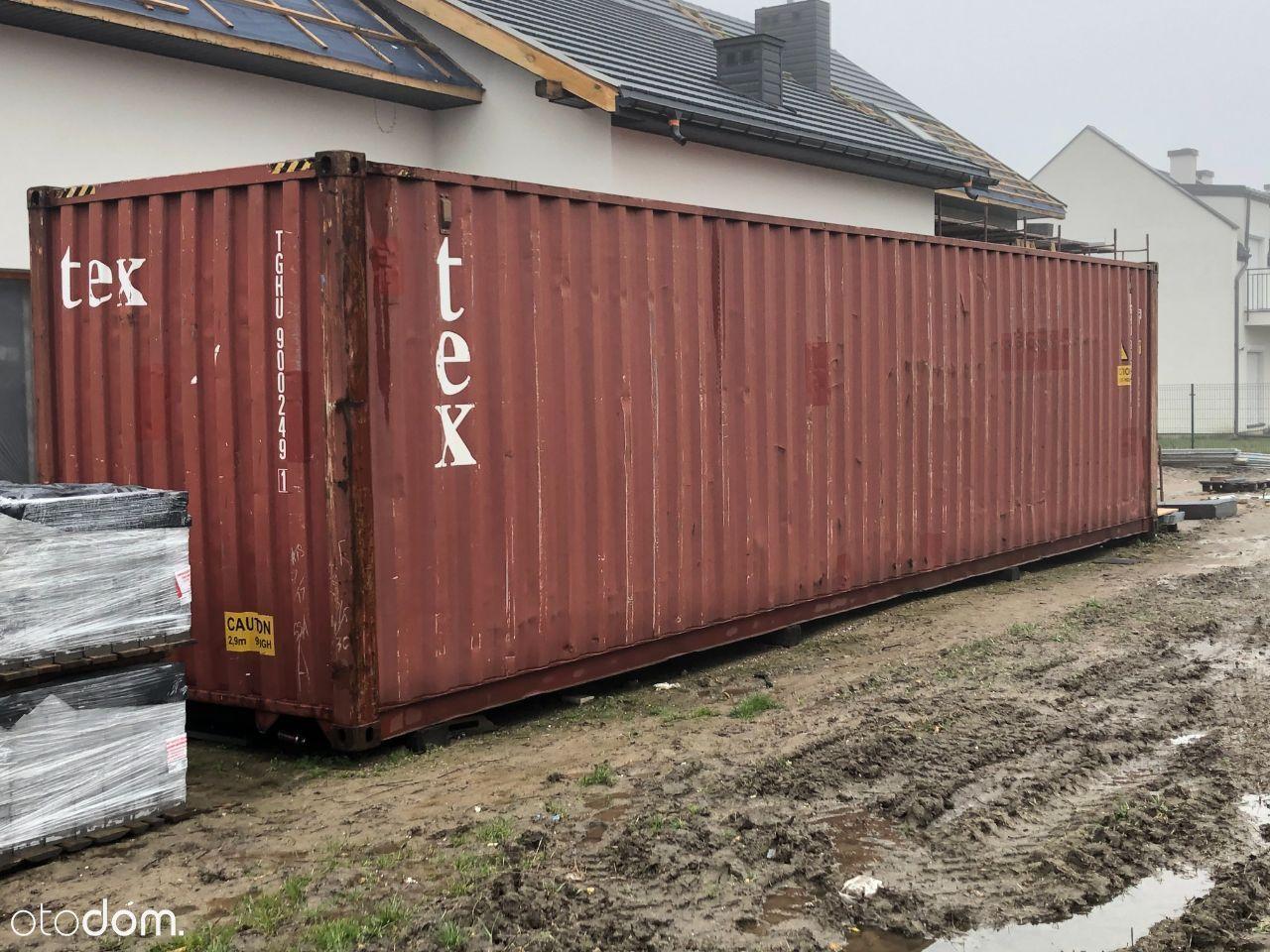 Sprzedam kontener morski 12m