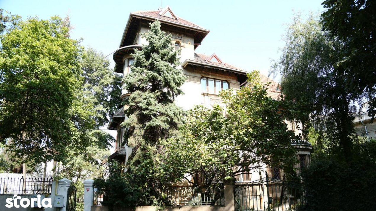 Oferta rara! Kiseleff, vila stil arhitectural neoromanesc, 490 mp, ter