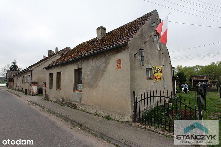 Dom 160 m2 - Działka 1800 m2- Budynki Gospodarcze