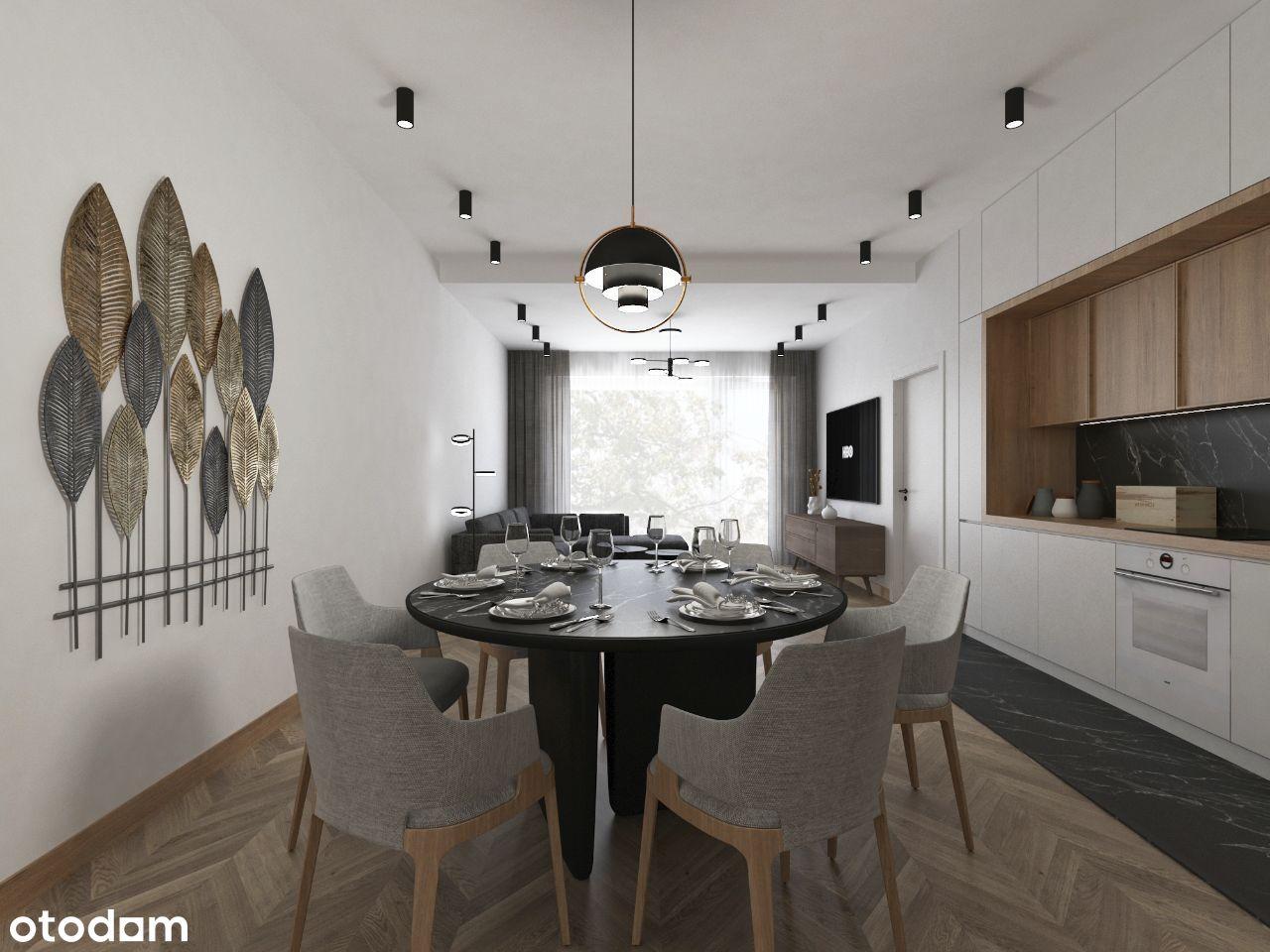 Apartament 2-pokojowy 72,41 m2 z ogródkiem