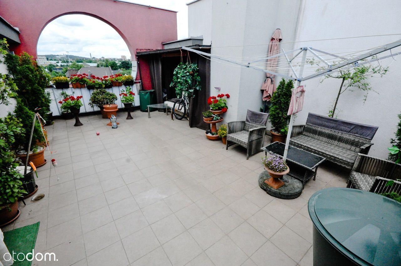 Przepiękne mieszkanie z 40 mkw Tarasem