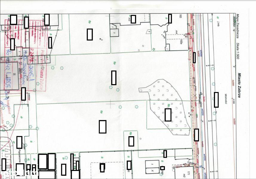 Działka, 4 884 m², Zabrze
