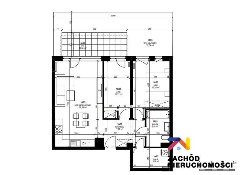 Lisia, 3 pokoje z ogródkiem (37m2), tylko 5200zł.m