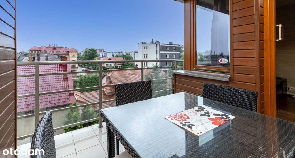 61 m2 + balkon, 2- pok, Garaż, Komórka, Ruczaj,