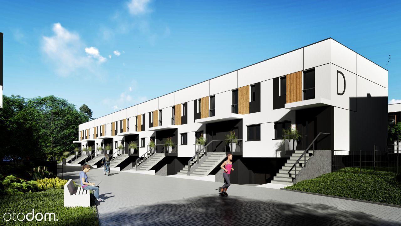 Mieszkanie 2-poziomowe z ogródkiem na Miedzyniu