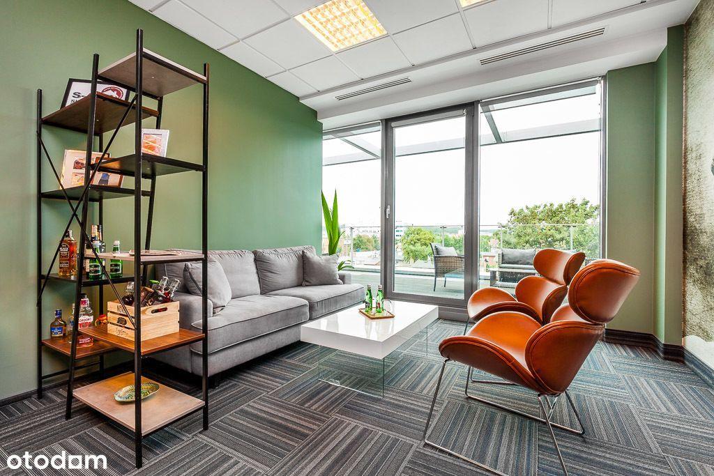 Nowoczesne biuro z tarasem w bardzo dobrej cenie