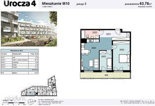 UROCZA 4- Mieszkanie w nowej inwestycji