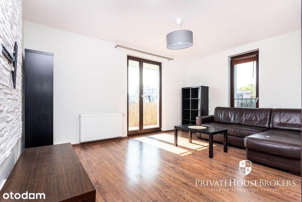 Mała Góra, 54m²: 2 pokoje z os.kuchnią i balkonem