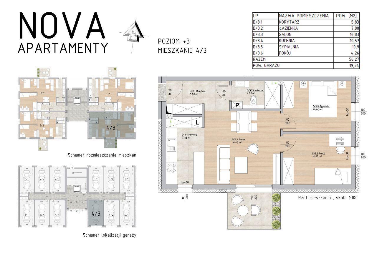 Nowe Mieszkanie Nova Apartamenty M4/3 Rezerwacja