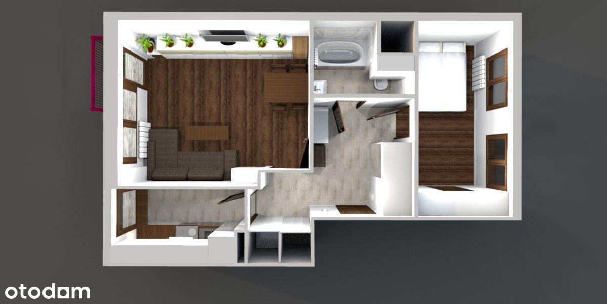 Umeblowane mieszkanie po gruntownym remoncie