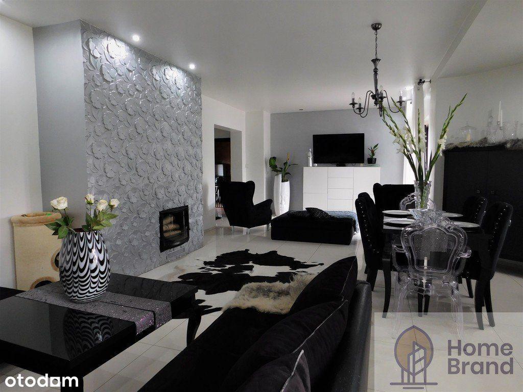 Piękny dom z basenem i fotowoltaiką, styl glamour!