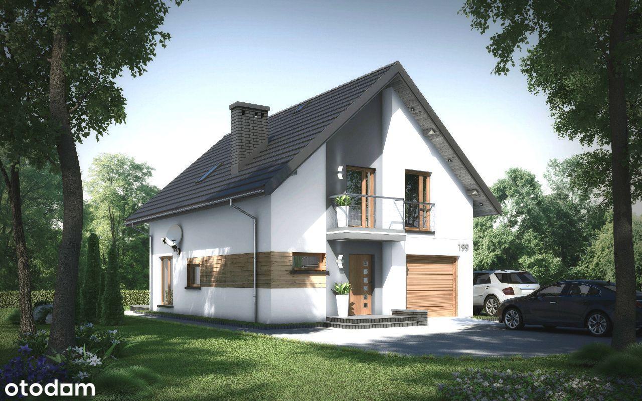 NOWY dom Luborzyca / działka 6ar / blisko Krakowa