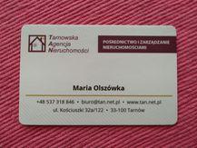 Deweloperzy: Tarnowska Agencja Nieruchomości Maria Olszówka - Tarnów, małopolskie